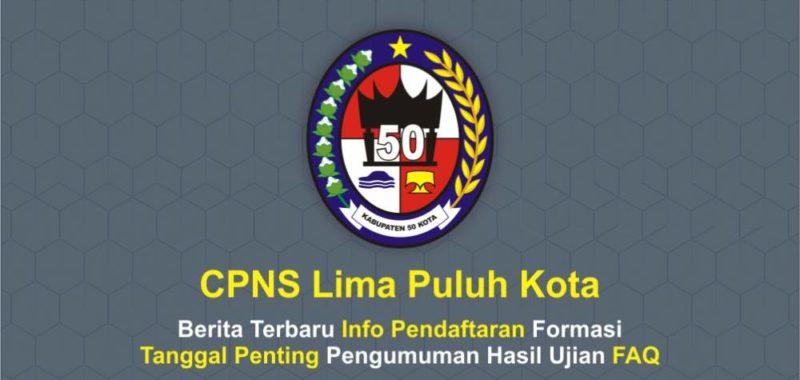 CPNS Lima Puluh Kota