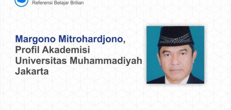 Dr. Margono Mitrohardjono, S.E., M.M.